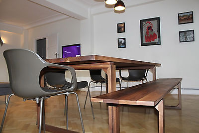 Distinctive Handmade Bespoke SOLID OAK Dining Table   The Givendale